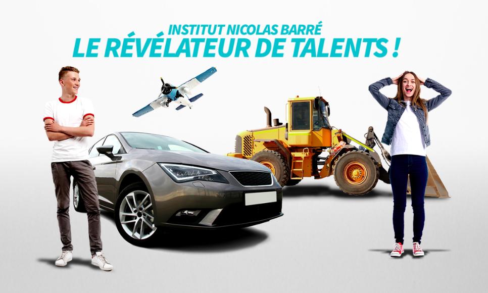 Révélateur de talents Institut Nicolas Barré Armentières