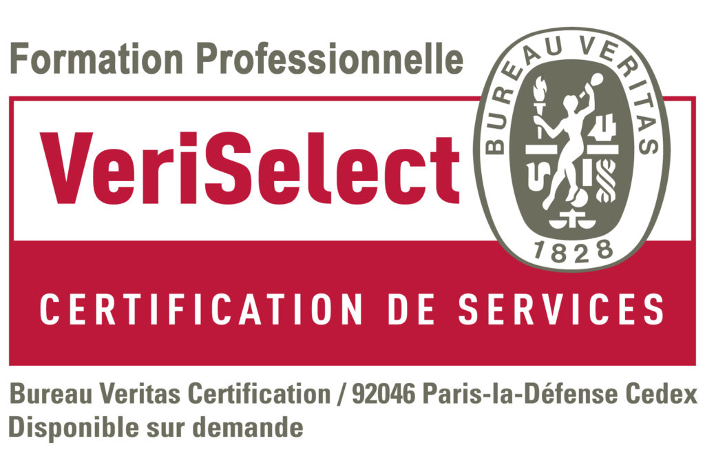 BV_Certification_VeriSelect Eco Eff Service Pro Institut Nicolas Barré Armentières