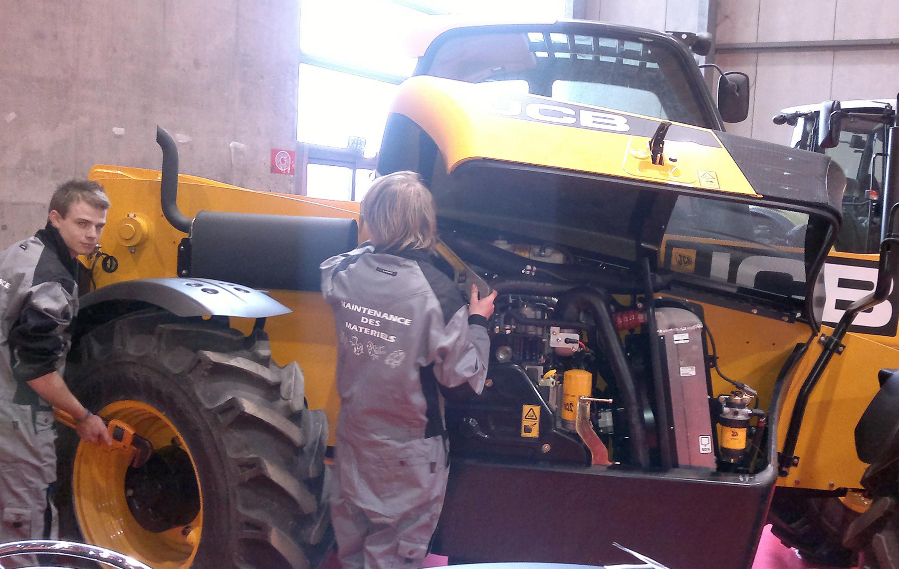 Maintenance des Matériels de Construction et de Manutention Institut Nicolas Barré Armentières