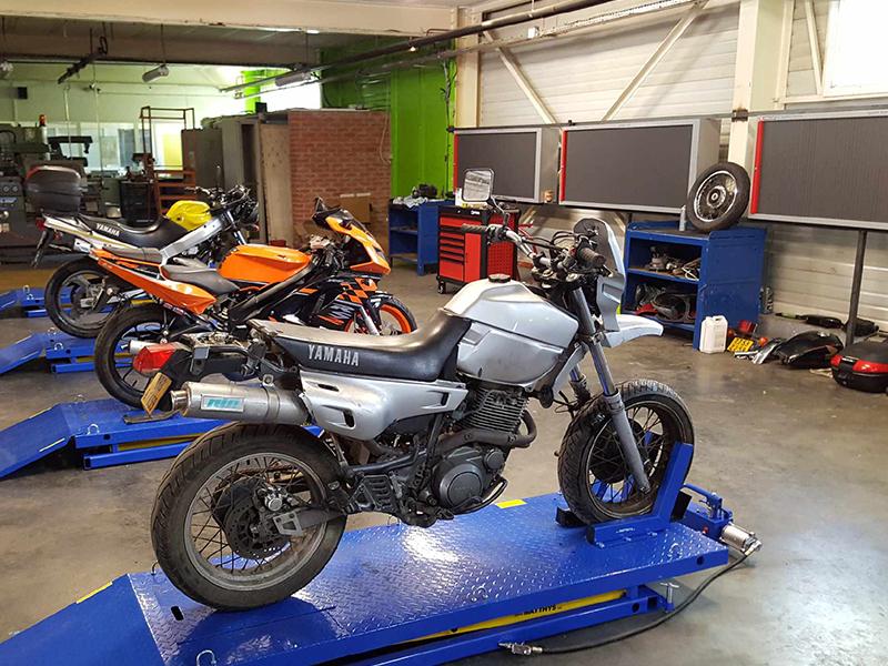 Maintenance des véhicules option Motocycles et cycles Institut Nicolas Barré Armentières